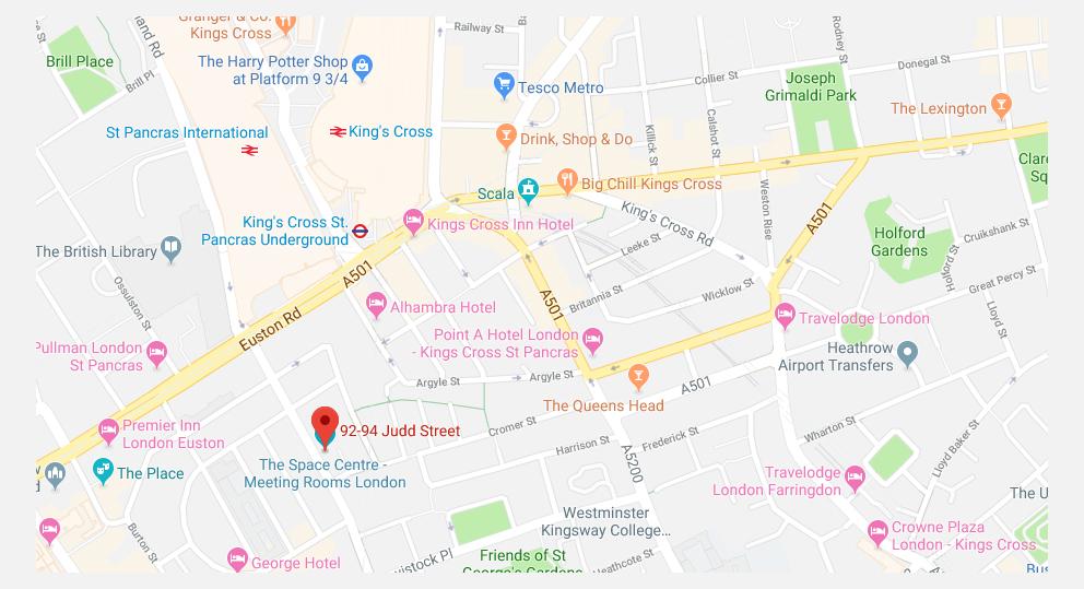 OldPain2Go Training London - Judd Street, near Kings Cross